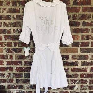 """""""The Bride"""" Baby Terry Robe from Betsey Johnson"""